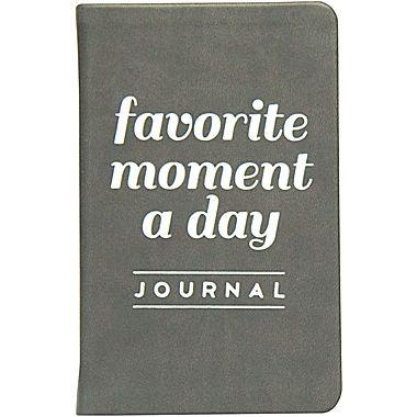The Eccolo Favorite Moments of the Day Journal