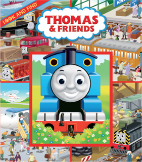 Thomas & Friends Look and Find Book