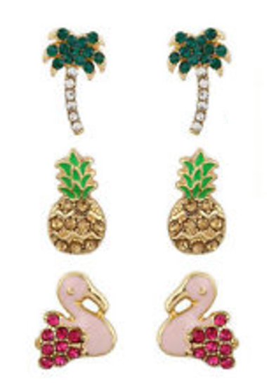 Tropical Dazzle Earrings