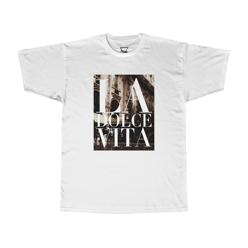La Dolce Vita T-shirt - BLANK AND BLUE