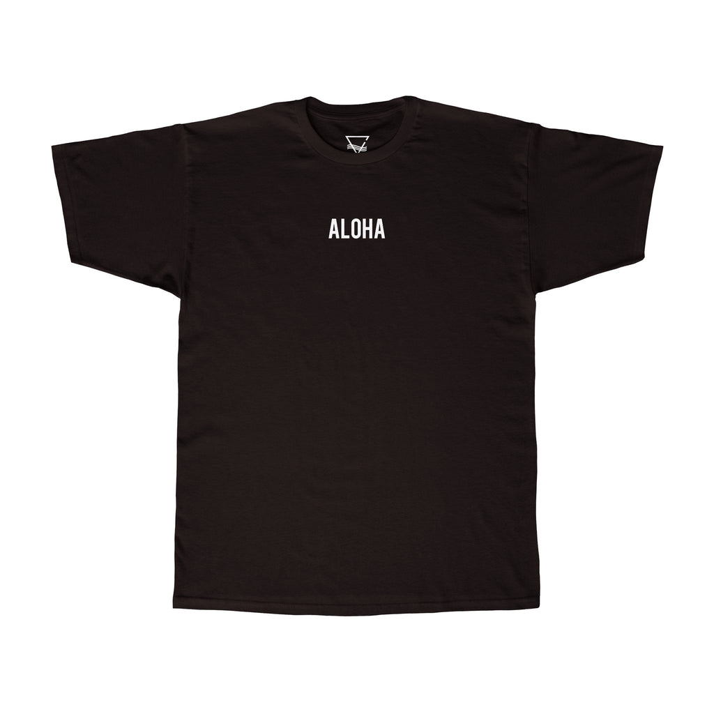Aloha T-Shirt - BLANK AND BLUE