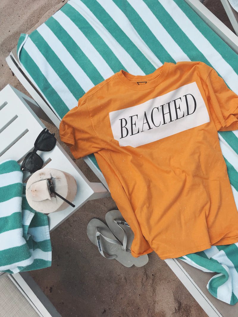 Beached T-Shirt - BLANK AND BLUE