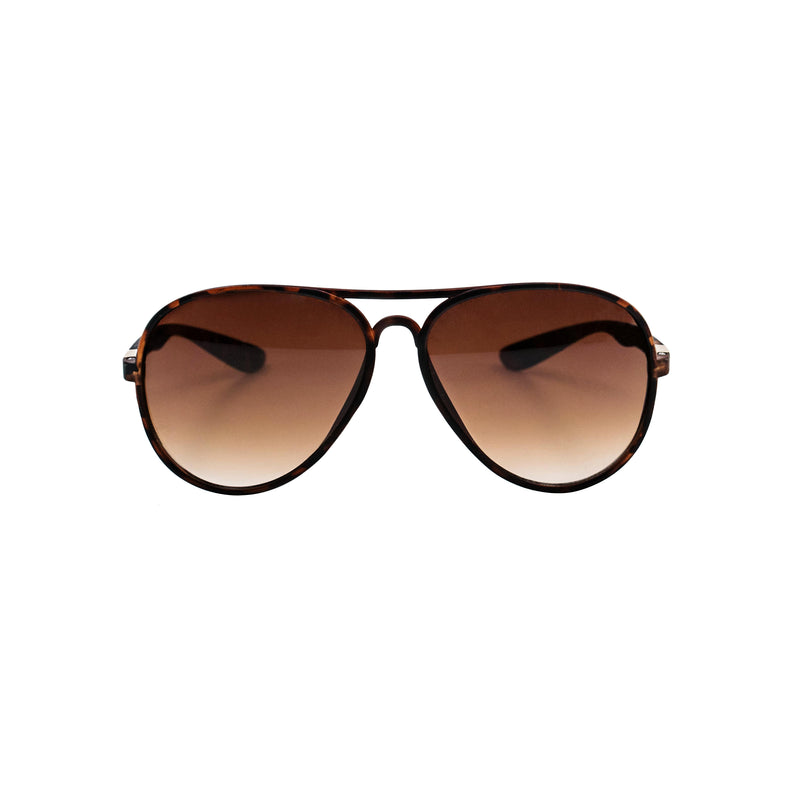 Limited Edition: Tortoise Aviator - BLANK AND BLUE