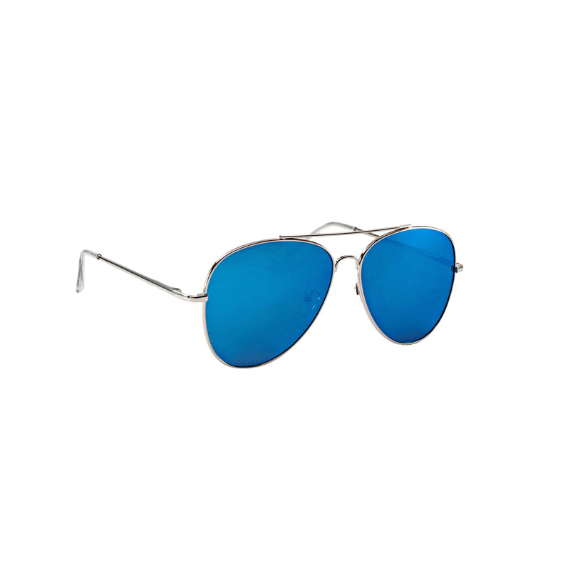 Limited Edition: Blue Mirror Aviator - BLANK AND BLUE