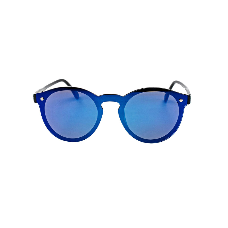 Limited Edition: Blue Mirror Sunglasses - BLANK AND BLUE