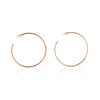 Seychelles Hoop Earrings - Rose Gold - BLANK AND BLUE