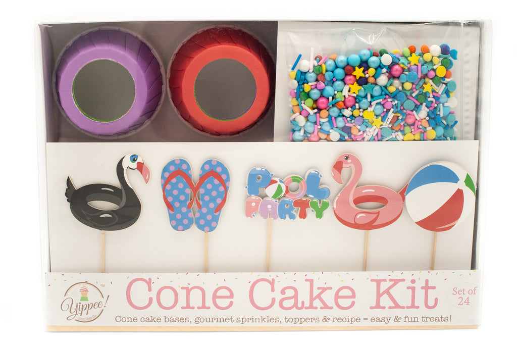 Introducing Cone Cake Kits!