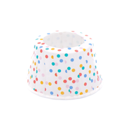Confetti cone cake holders, set of 24