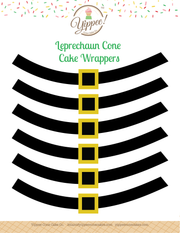Leprechaun Belt Printable