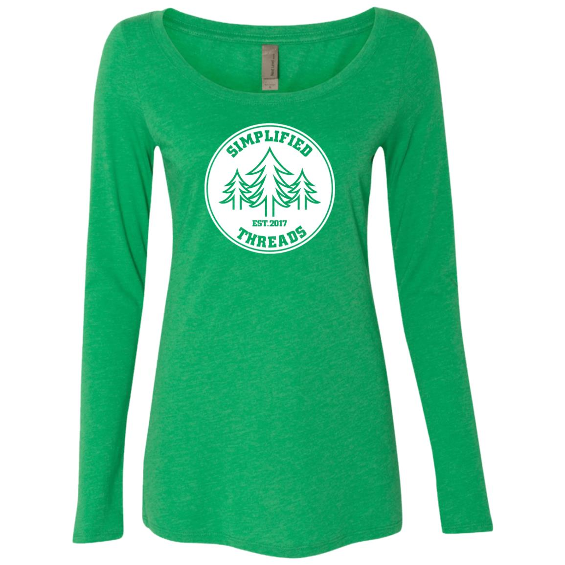 Ladies' Dig Your Roots Logo Long Sleeve