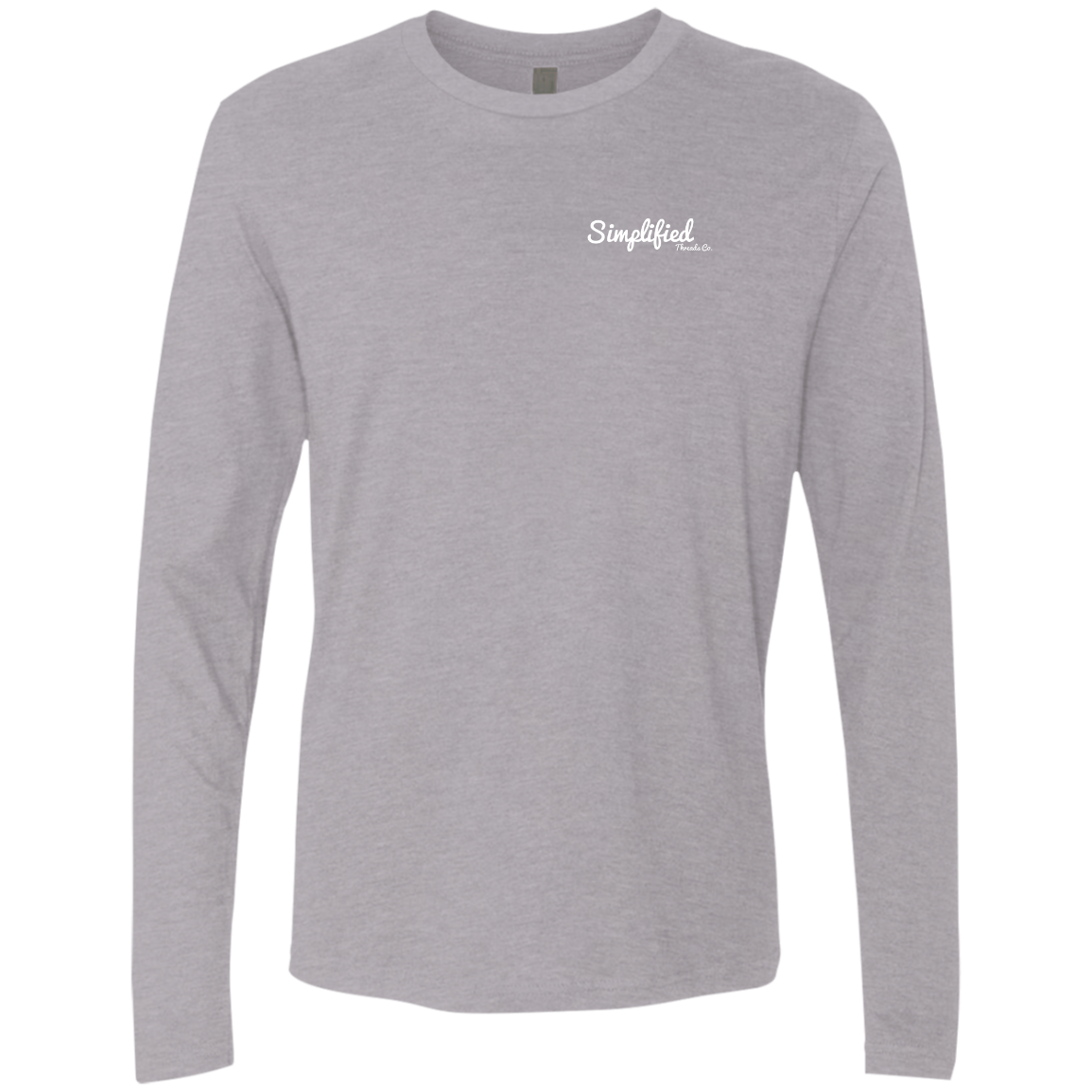 Classic Logo Front/ Back Long Sleeve