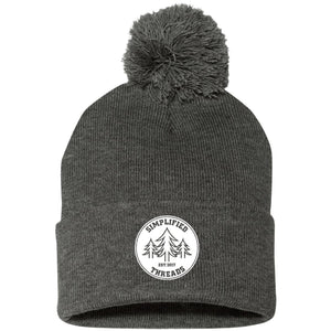 Dig Your Roots Pom Pom Beanie