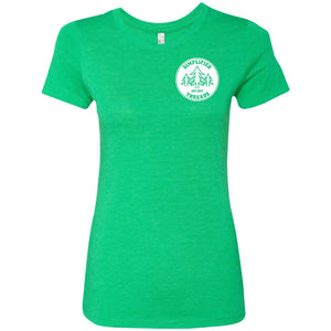 Ladies' Small Dig Your Roots Logo Tee