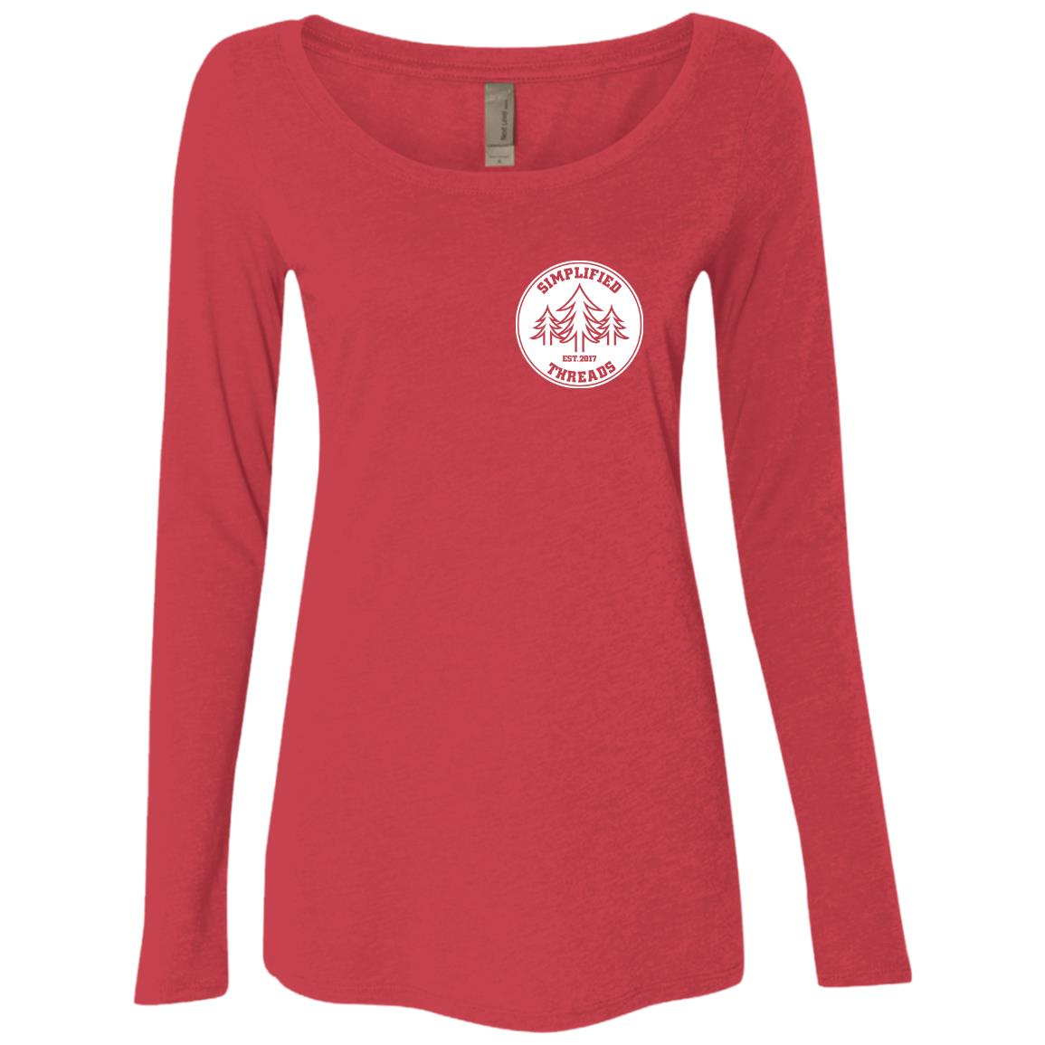 Ladies' Small Dig Your Roots Logo Long Sleeve