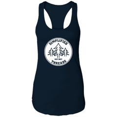 Ladies' Dig Your Roots Logo Racerback Tank