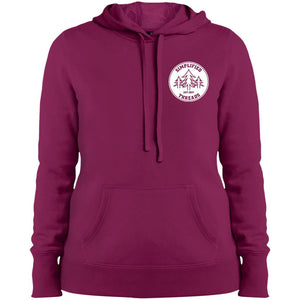 Ladies' Small Dig Your Roots Logo Hoodie
