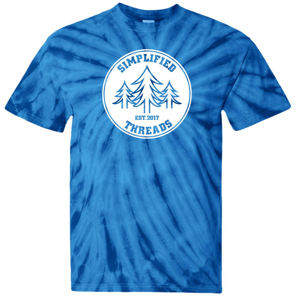 Kids Dig Your Roots Logo Tie Dye Tee