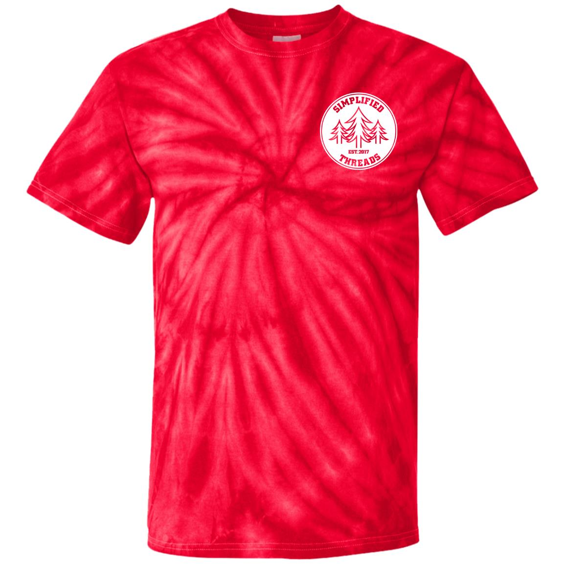 Kids Small Dig Your Roots Logo Tie Dye Tee