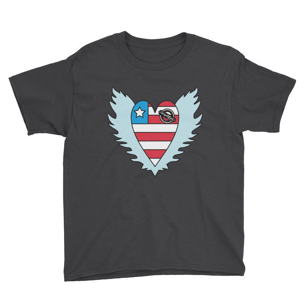 GBMS American Heart Logo Tee - Youth