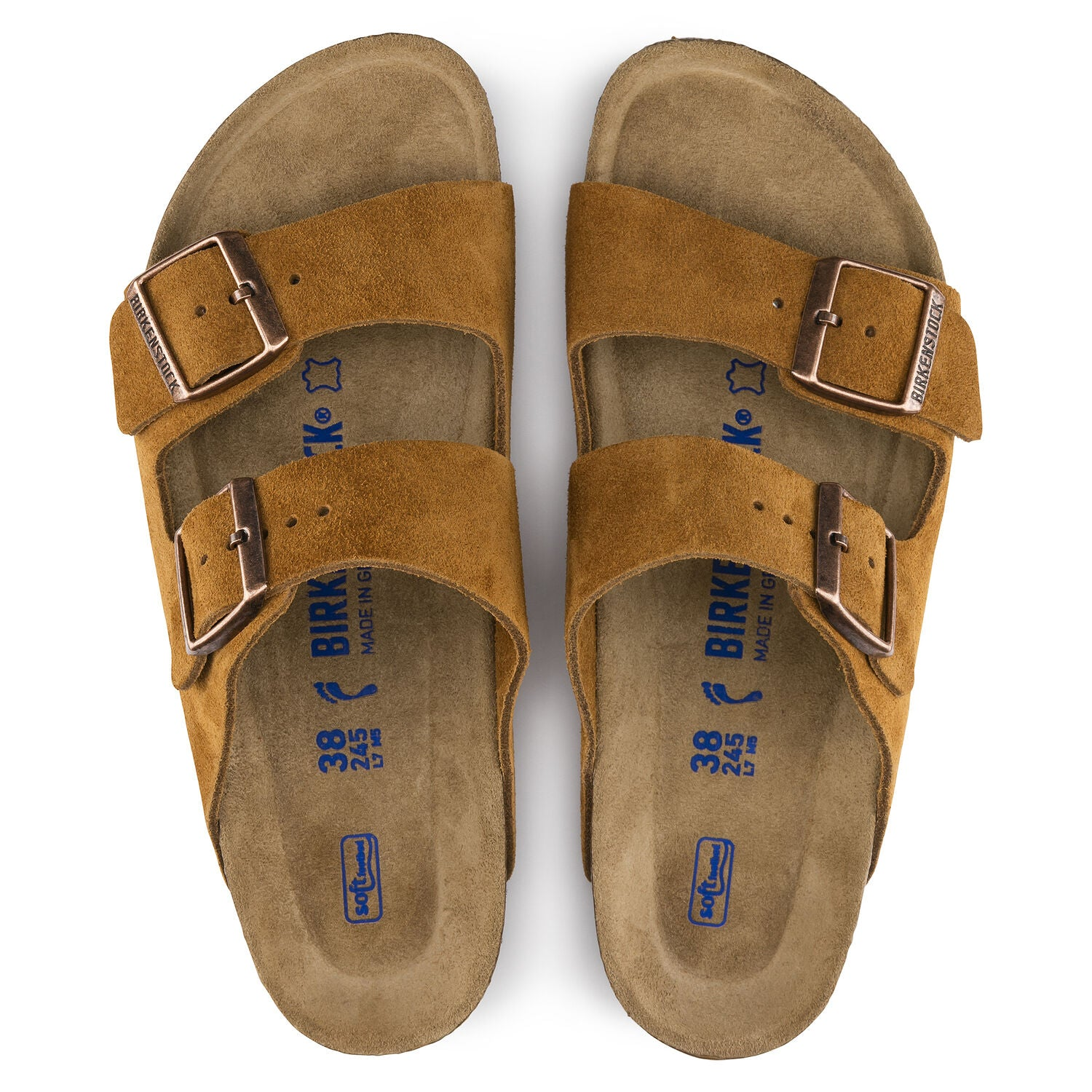 ARIZONA MINK SUEDE NARROW SOFT FOOTBED getset-footwear.myshopify.com