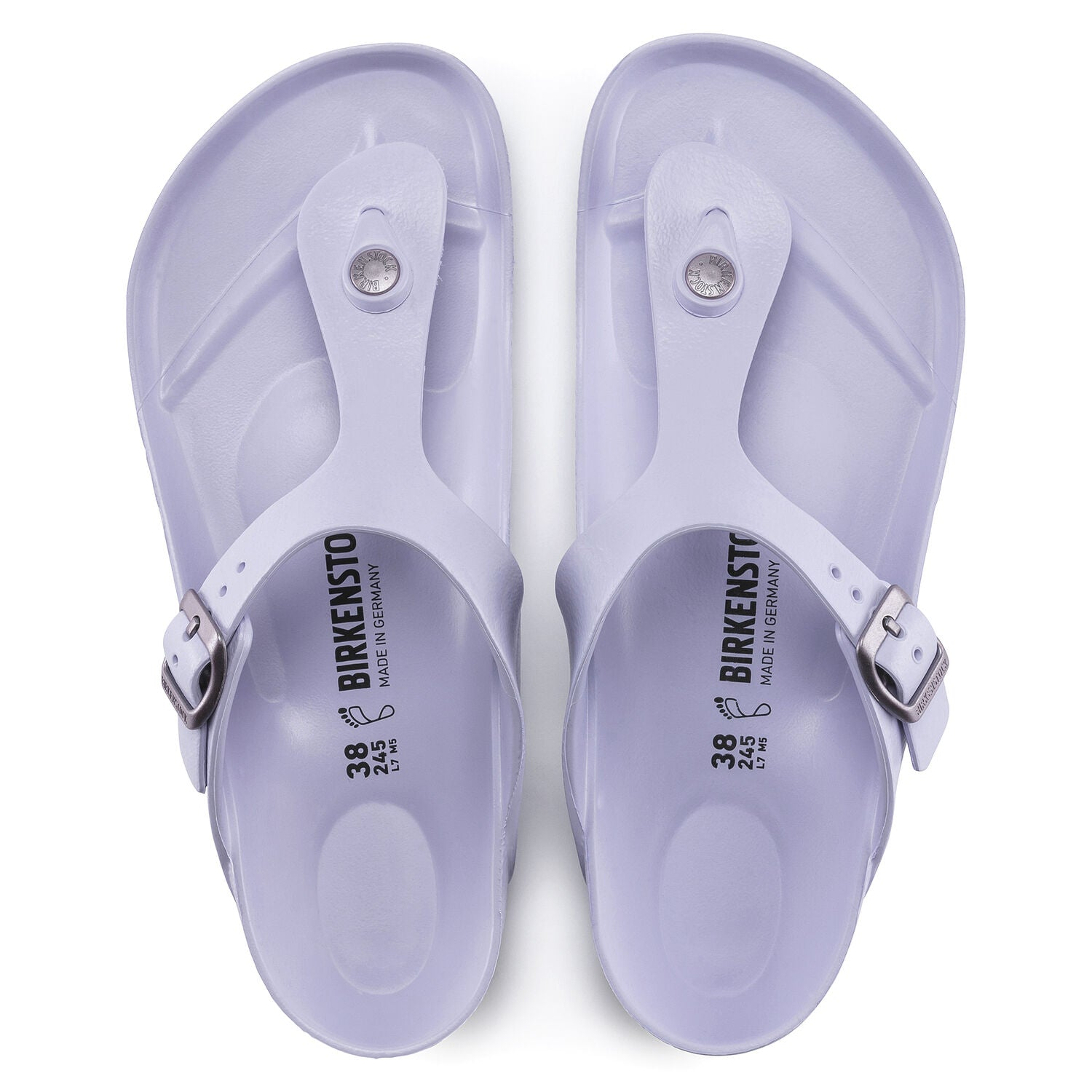 BIRKENSTOCK GIZEH BEACH PURPLE FOG EVA REGULAR