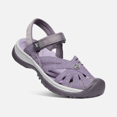 ROSE SANDAL SHARK LAVENDER GREY - getset-footwear