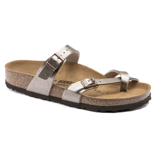BIRKENSTOCK MAYARI GRACEFUL TAUPE BIRKO-FLOR REGULAR