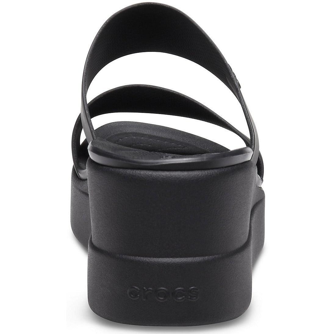 CROCS CROCS BROOKLYN MID WEDGE BLACK/BLACK getset-footwear.myshopify.com
