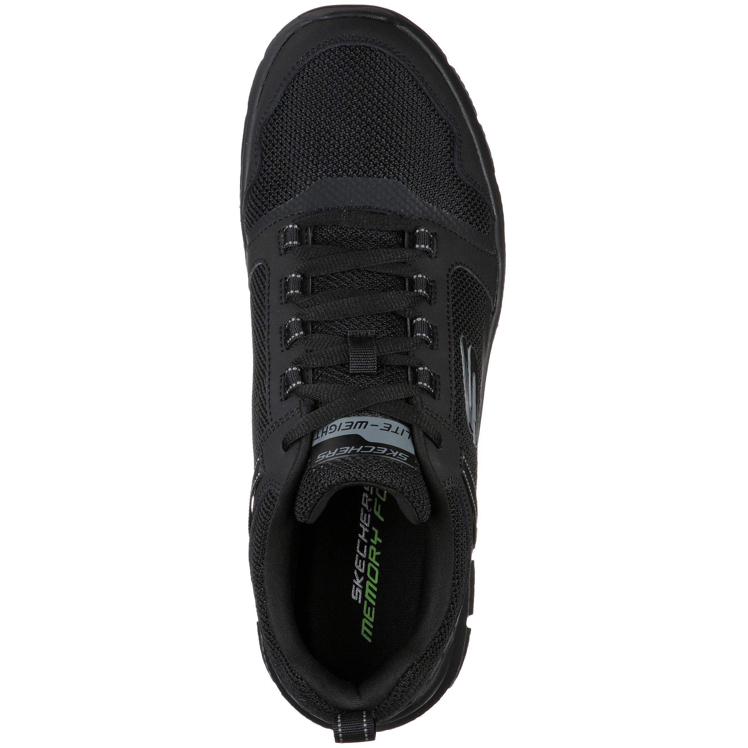 SKECHERS TRACK - KNOCKHILL BLACK/BLACK