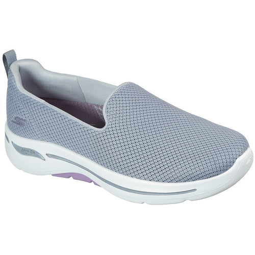 SKECHERS GO WALK ARCH FIT - GRATEFUL GREY/LAVENDER