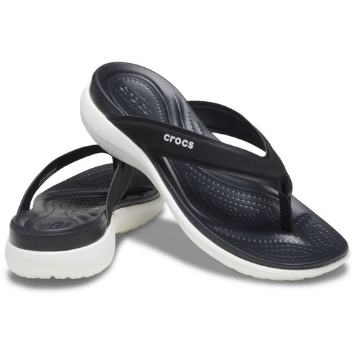 CROCS CAPRI V SPORTY FLIP BLACK