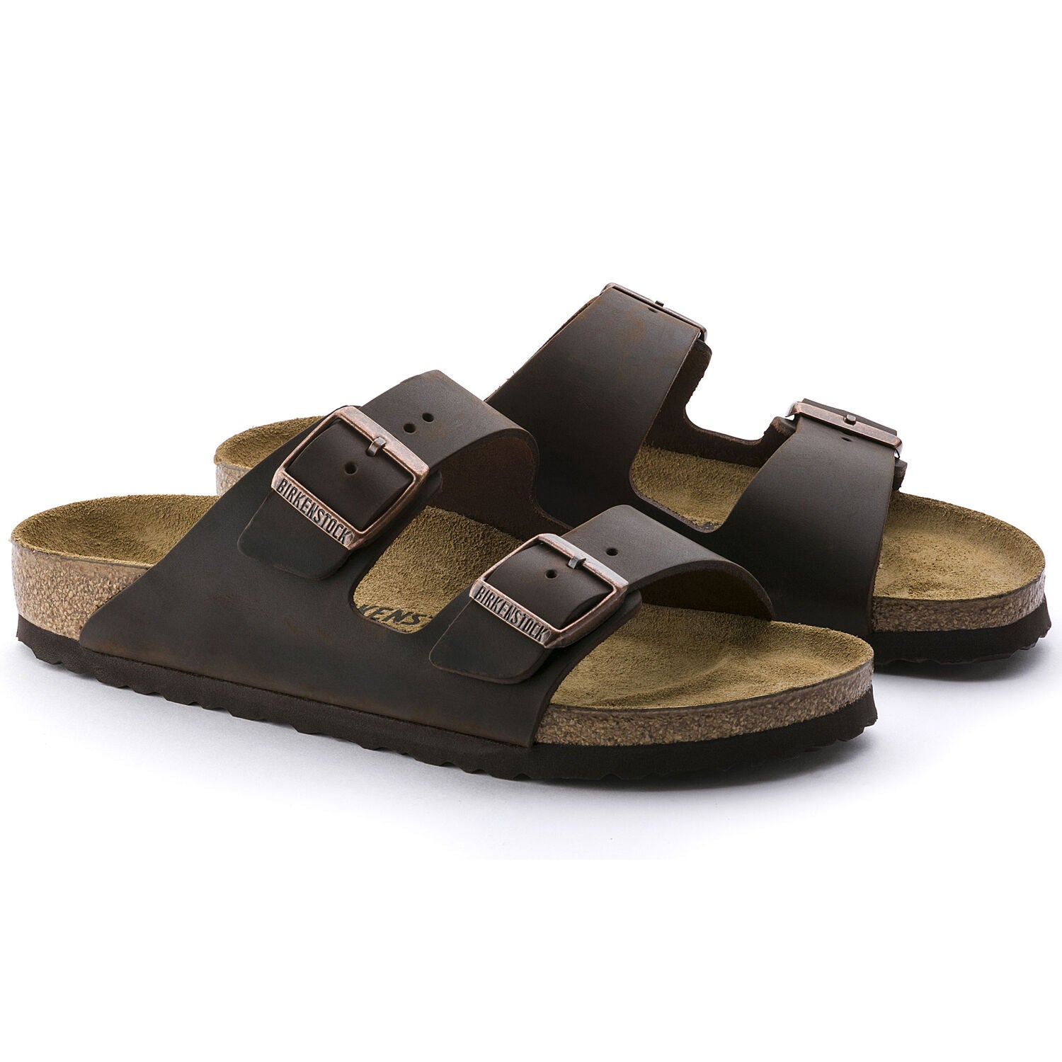 BIRKENSTOCK BIRKENSTOCK ARIZONA HABANA OILED LEATHER NARROW getset-footwear.myshopify.com