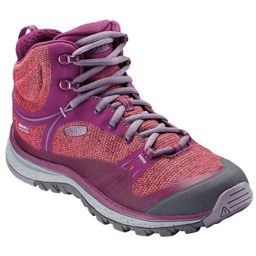 TERRADORA MID WP DARK PURPLE SA - getset-footwear