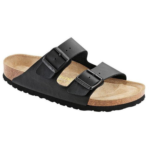 BIRKENSTOCK ARIZONA BLACK BIRKO-FLOR REGULAR SOFT FOOTBED getset-footwear.myshopify.com