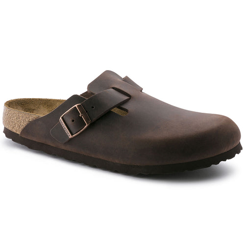 BIRKENSTOCK BOSTON HABANA OILED LEATHER REGULAR