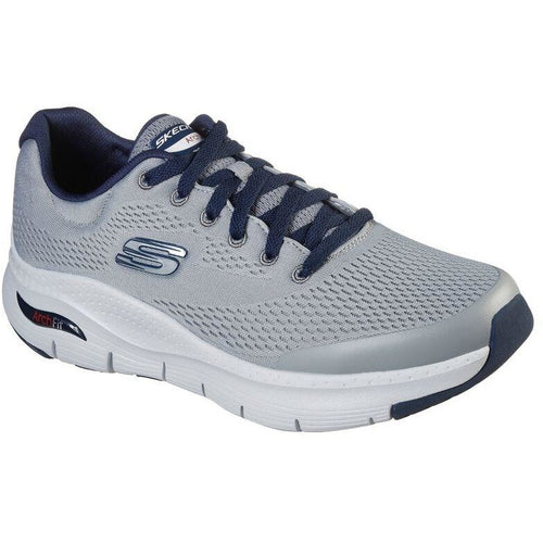 SKECHERS ARCH FIT GREY NAVY