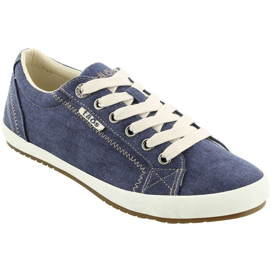 TAOS TAOS WIDE STAR BLUE WASHED CANVAS getset-footwear.myshopify.com