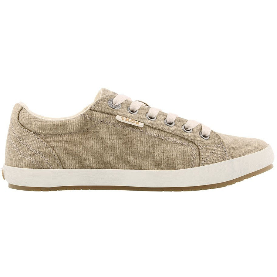 TAOS STAR WASHED CANVAS KHAKI - getset-footwear.myshopify.com