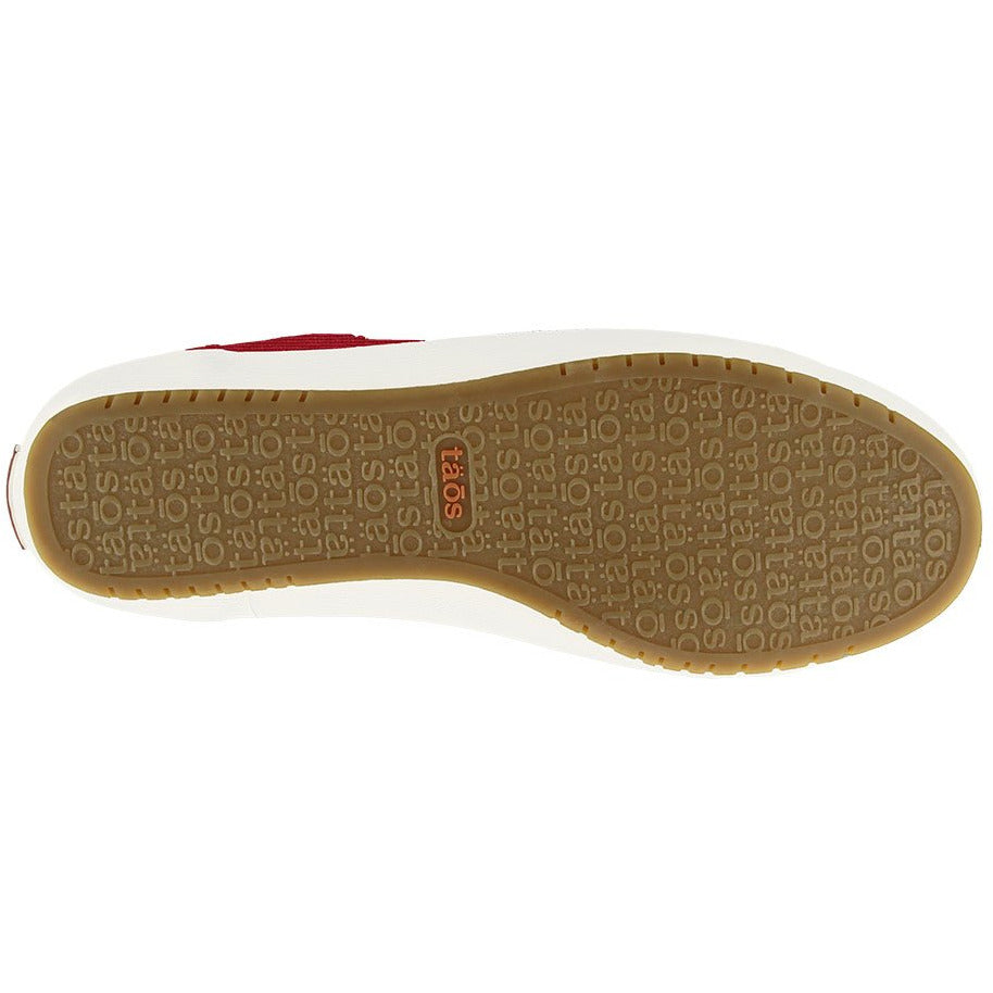 TAOS TAOS STAR RED TWILL CANVAS getset-footwear.myshopify.com