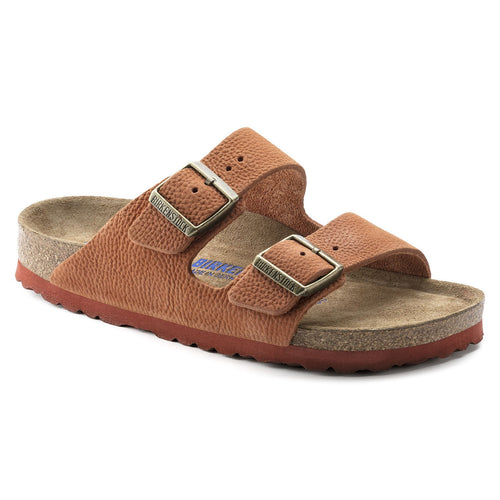 ARIZONA STEER CURRY NUBUCK LEATHER NARROW SOFT FOOTBED