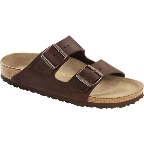 BIRKENSTOCK ARIZONA HABANA OILED LEATHER NARROW getset-footwear.myshopify.com