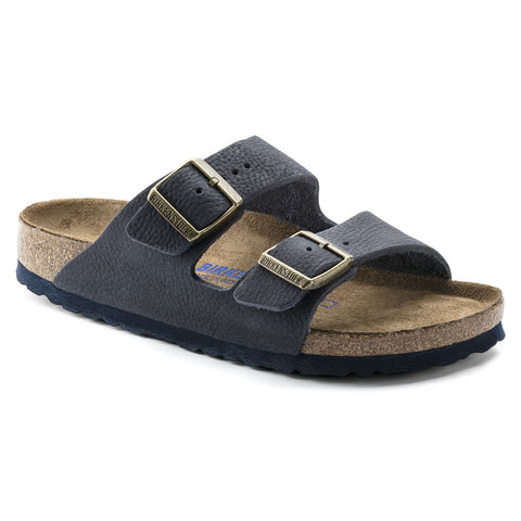 ARIZONA TAUPE SUEDE NARROW SOFT FOOTBED