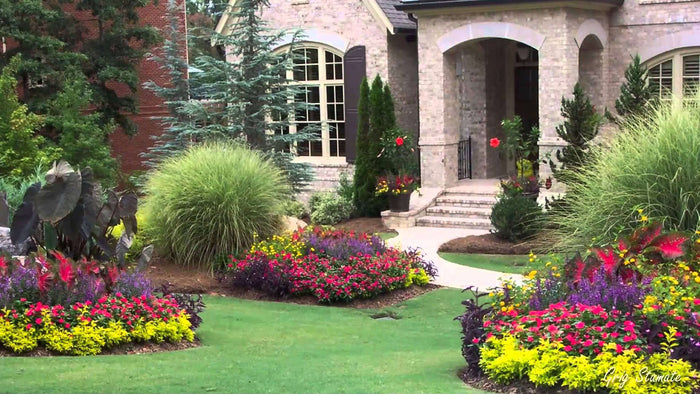 Colorful Landscape Design Ideas