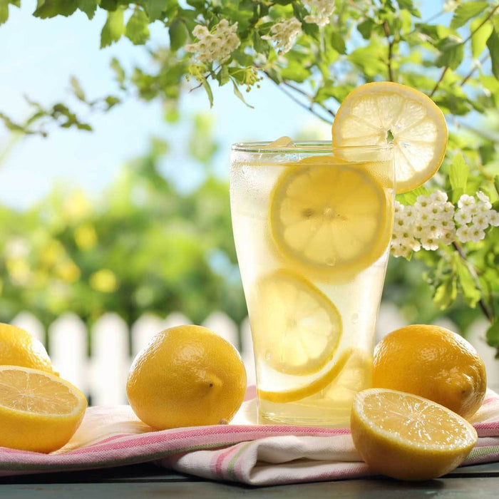 Lemonade from Meyer Lemons