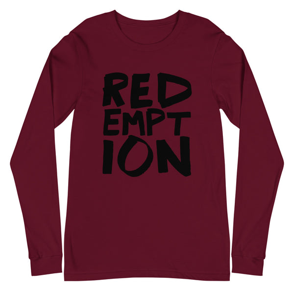 REDEMPTION Unisex Graphic Lounge Long Sleeve Tee