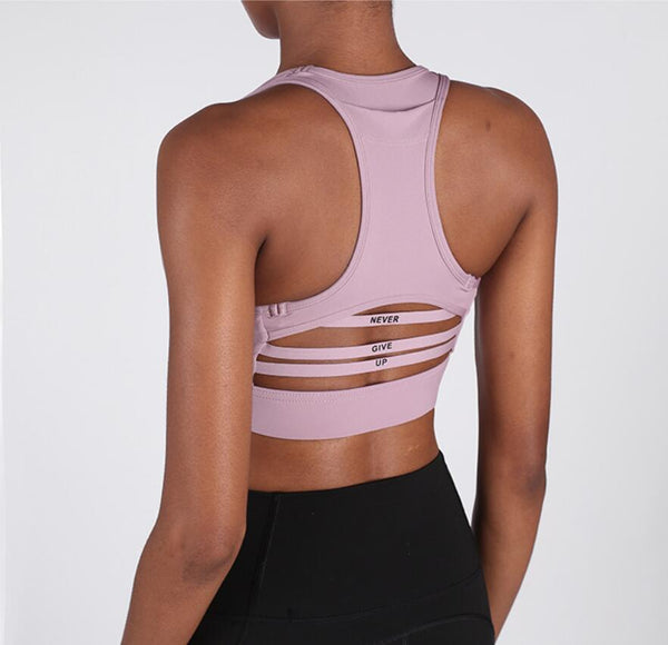 Performance Running Sports Bra with Pocket