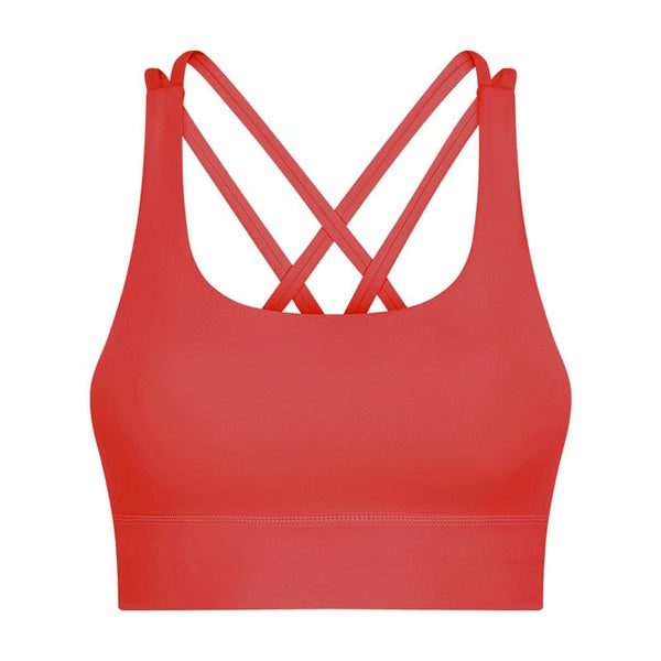 Criss Cross Sports Bra