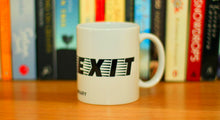'Exit pursued by a bear' mug