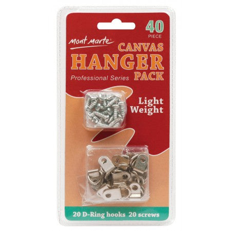 Canvas Hanger Pack Accessories