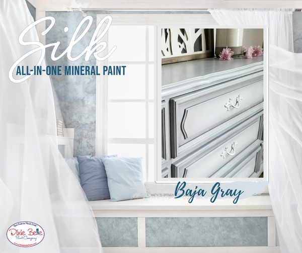 Baja Gray - SILK  All-in-one Mineral Paint